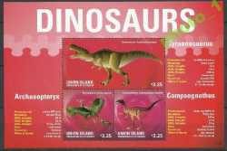Saint Vincent and the Grenadines, Prehistoric animals, 2014, 3stamps