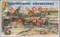 Malawi, Prehistoric animals, 1993, 6stamps