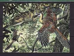 Sao Tome and Principe, Prehistoric animals, 1stamp