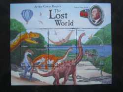 Liberia, Prehistoric animals, 12stamps