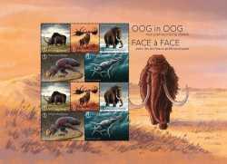 Belgium, Prehistoric animals, 2018, 10stamps