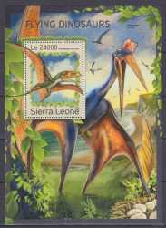 Sierra Leone, Prehistoric animals, 2016, 1 stamp