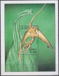 Sierra Leone, Prehistoric animals, 2001, 1stamp