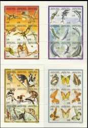 Comoros, Prehistoric animals, 1998, 32stamps