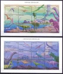 Grenada, Prehistoric animals, 1994, 26 stamps
