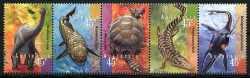 Australia, Prehistoric animals, 5stamps