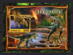 Somalia, Prehistoric animals, 2016, 1 stamp