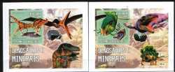 Sao Tome and Principe, Prehistoric animals, 2006, 2 stamps (imperf.)