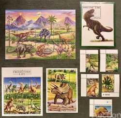 Sierra Leone, Prehistoric animals, 1998, 19stamps