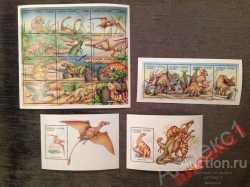 Sierra Leone, Prehistoric animals, 1995, 18stamps