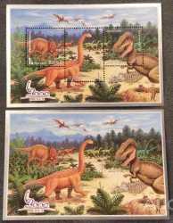 North Korea, Prehistoric animals, 2000, 6stamps