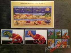 Antigua and Barbuda, Prehistoric animals, 1995, 20stamps