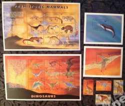 Antigua and Barbuda, Prehistoric animals, 1999, 24stamps