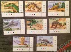 Kiribati, Prehistoric animals, 2006, 8 stamps