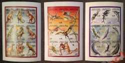 Comoros, Prehistoric animals, 1998, 27stamps (imperf.)