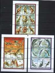 Comoros, Prehistoric animals, 1998, 27stamps