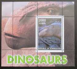 Somalia, Prehistoric animals, 2011, 1 stamp