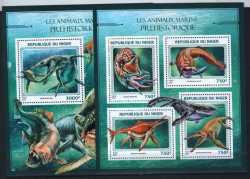 Niger, Prehistoric animals, 2016, 5 stamps