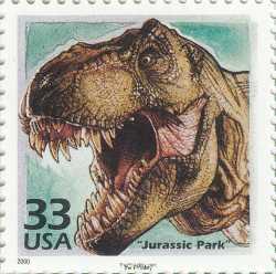 USA, Prehistoric animals, 2000, 1stamp