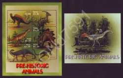 Nevis, Prehistoric animals, 2005, 21stamps