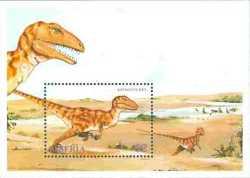 Liberia, Prehistoric animals, 1993, 1stamp