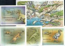 Comoros, Prehistoric animals, 1999, 16stamps