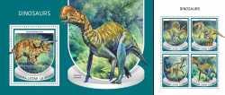 Sierra Leone, Prehistoric animals, 2018, 5stamps