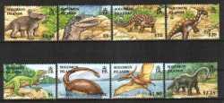 Prehistoric animals, Solomon Islands, 2006, 8stamps