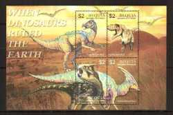 Saint Vincent and the Grenadines, Prehistoric animals, 2005, 4stamps