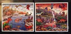 Guyana, Prehistoric animals, 1996, 27stamps